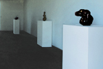 "Partial view of the exhibition: Agustín Cárdenas ""volumes"""